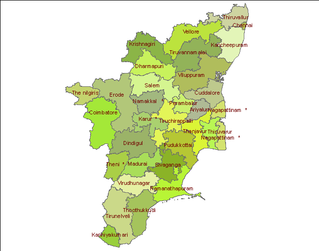 Micro-Watershed Atlas for TamilNadu