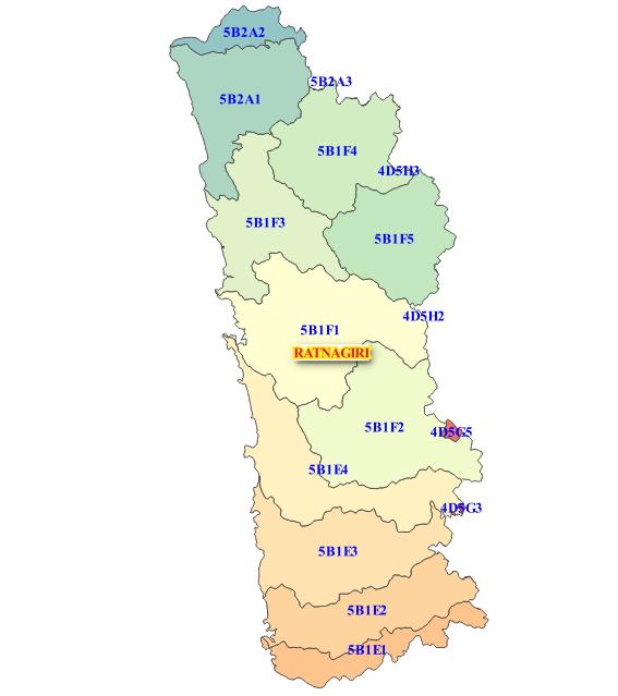 Ratnagiri City At Ratnagiri Maharashtra India: Ratnagiri