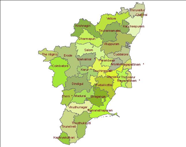 Micro-Watershed Atlas for TamilNadu